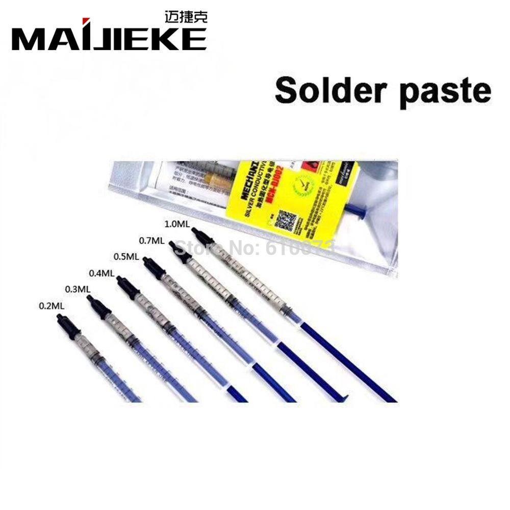 0.2ML 0.3ML 0.5ML Silver Conductive Glue Wire Electrically Solder ...