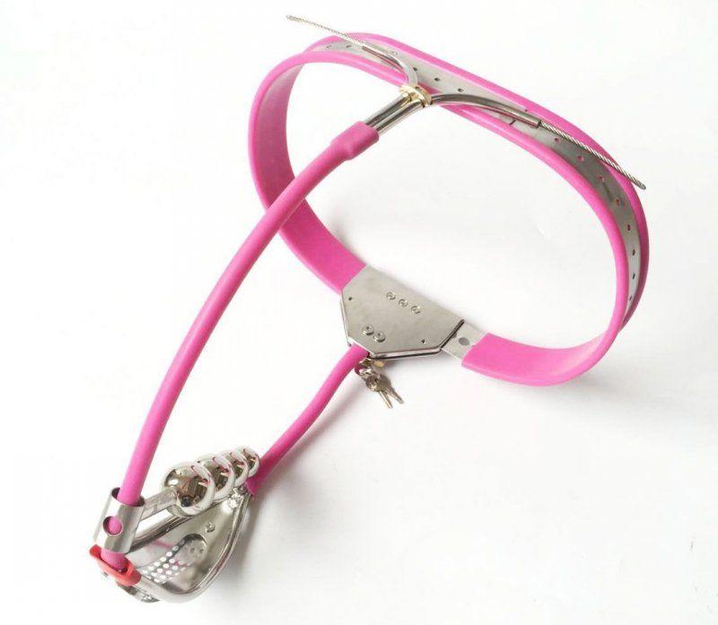Female Chastity Device With Defecation Hole Stainless Steel Adjustable Belt Slave BDSM Bondage Fetish Lockable Restraint Sex Toys