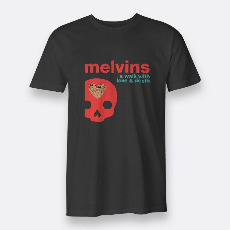 Melvins A Walk With Love And Death Black Tee T Shirt Mens Sz S 3xl