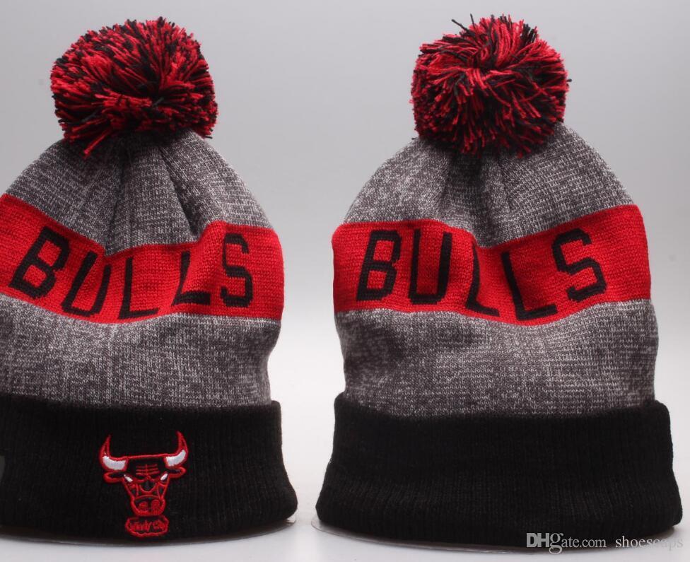 2019 Chicago Beanie Winter CHI Hats For Men Women Knitted Beanie ... b542b0e4010