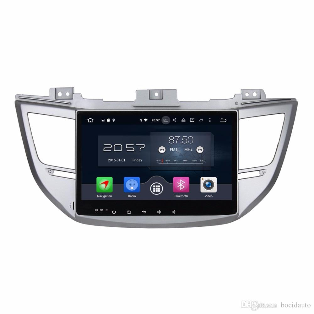 "4GB RAM Octa Core 10.1"" Android 6.0 Car Audio DVD Player Car DVD for Hyundai IX35 Tucson 2015 2016 With Radio GPS WIFI Bluetooth TV USB"