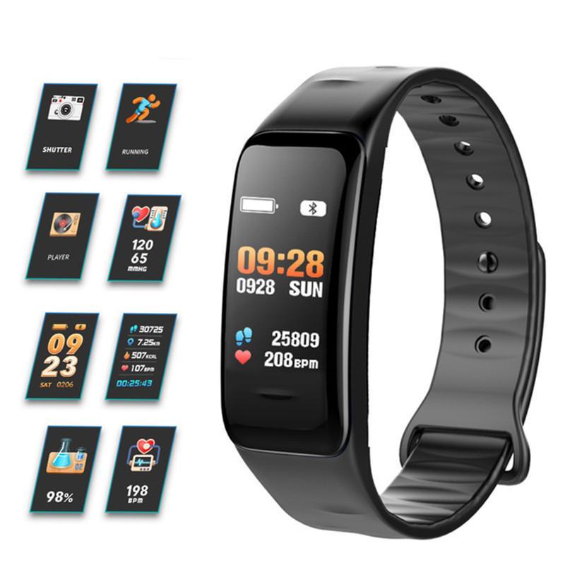 Consumer Electronics 696 New Blood Pressure Smart Watch Men Heart Rate Sports Watch Pulse Meter Smart Bracelet Waterproof Bluetooth Alarm Clock More Discounts Surprises Wearable Devices