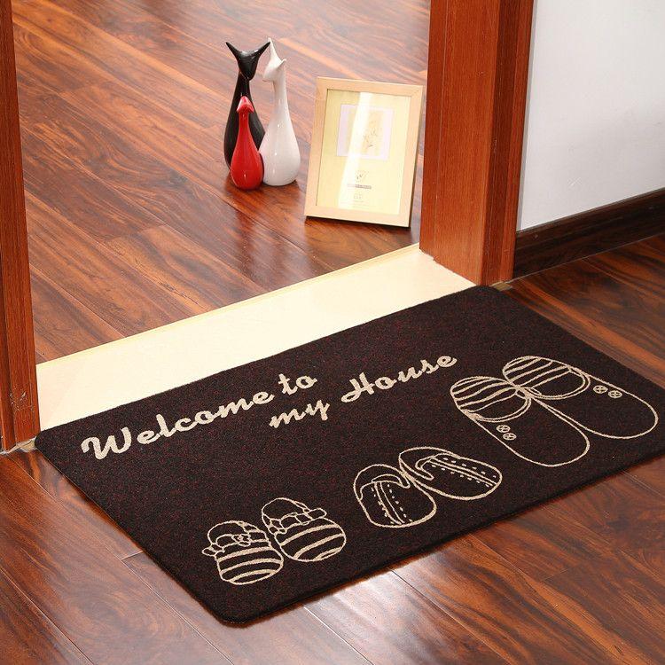 2017 Doormat Rug Carpet Cheap Decorative Doormat Kitchen Mat Anti Slip  Floor Mats Mini Area Rug For Entrance Door Pads Outdoor Patio Cushion Large  Patio ...
