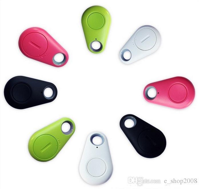 Control remoto inalámbrico Itag tracer Bluetooth 4.0 Tracker Keychain Buscador de claves Localizador GPS Práctico Mini Alarma Anti-perdida para Child Wallet Pet