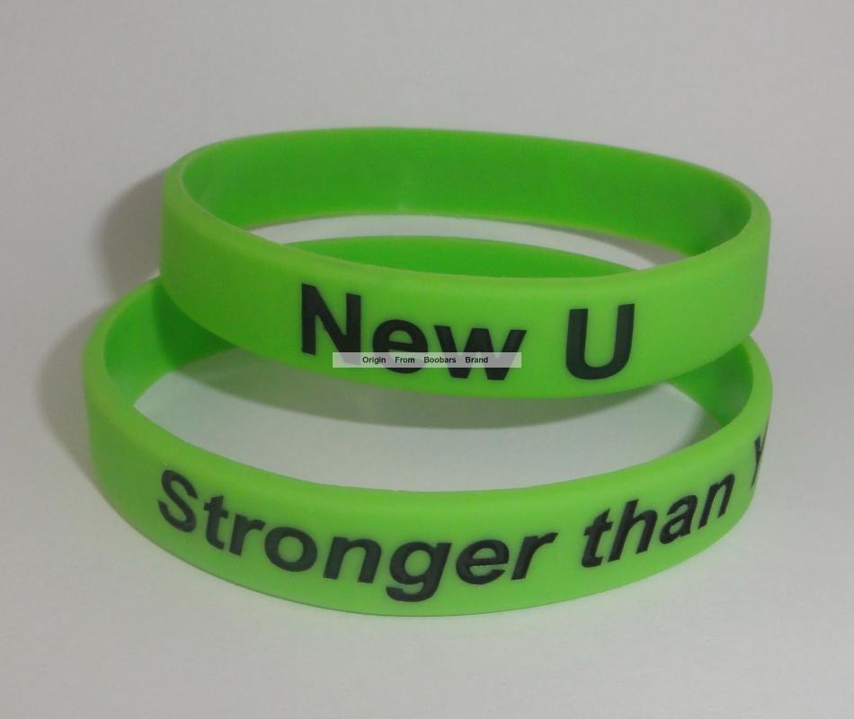 5c6ff989ff2a5 formulates custom debossed Promotion Logo Text AD silicone wristbands Party  Event Give aways For Kids