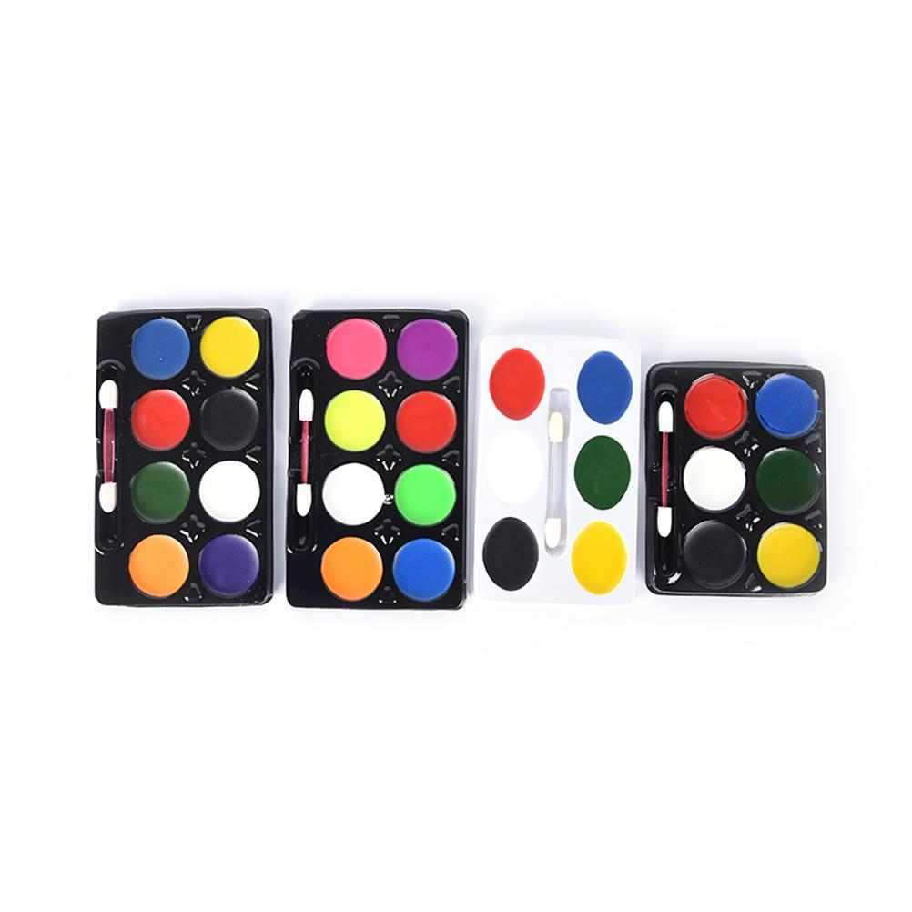 5 6 party non toxic water paint oil makeup face body painting art