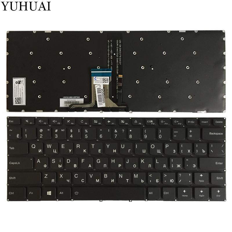 fda47e07c4d5 NEW Russian keyboard For Lenovo Flex 4-14 Flex 4-1470 4-14800 RU laptop  keyboard with backlight