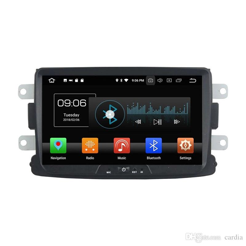 Car DVD player for RENAULT Duster 8inch Octa-core 4GB RAM Andriod 8.0 with GPS,Steering Wheel Control,Bluetooth, Radio