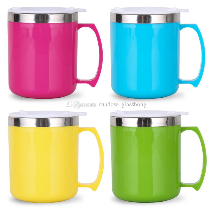 office cups. Office Cups Stainless Steel DoubleVacuum Cup Wine Glasses With Lid Egg Coffee Mugs Water Bottle