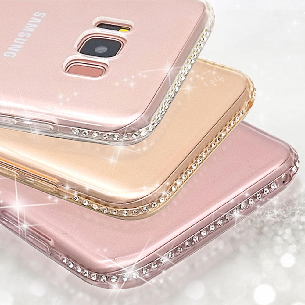 bd2985ebe1a Glitter Case For Samsung Galaxy S8 Plus Note 4 5 S6 S7 Edge A3 A5 2017 A7  J3 J5 2016 J7 S9 Cover Silicone Accessories Phone Cases Cell Phone Cases  Covers ...