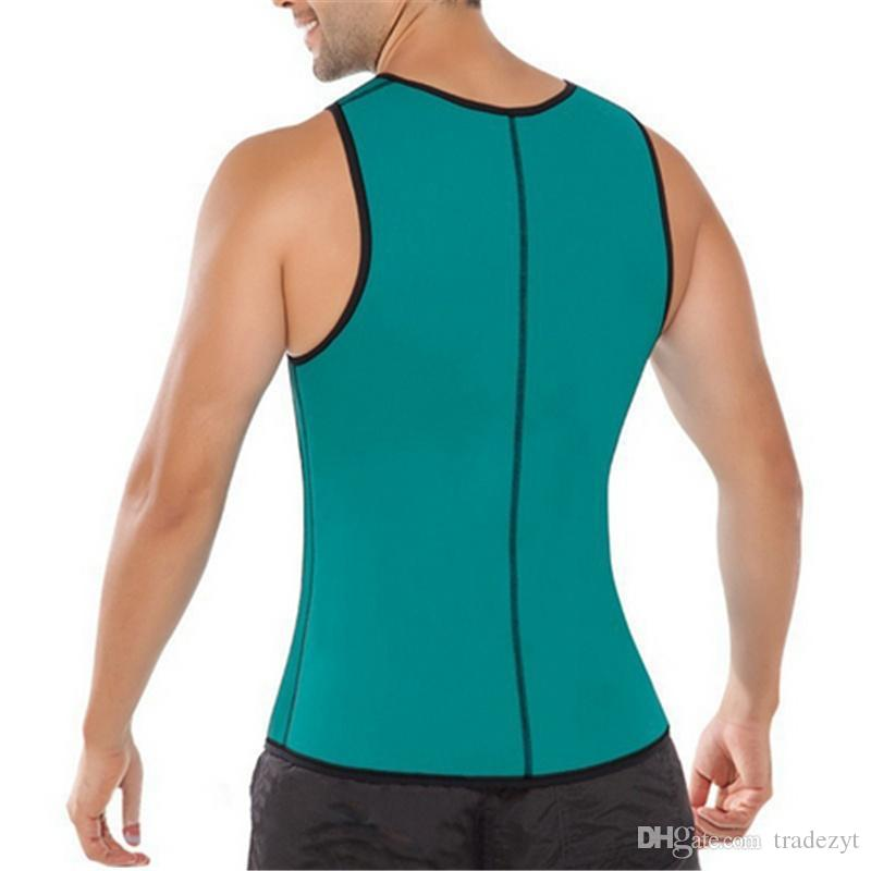 Пояс для похудения живота мужчины похудения жилет Body Shaper человек неопрена живота Термо животик Shaperwear талии пот корсет потеря веса ss001