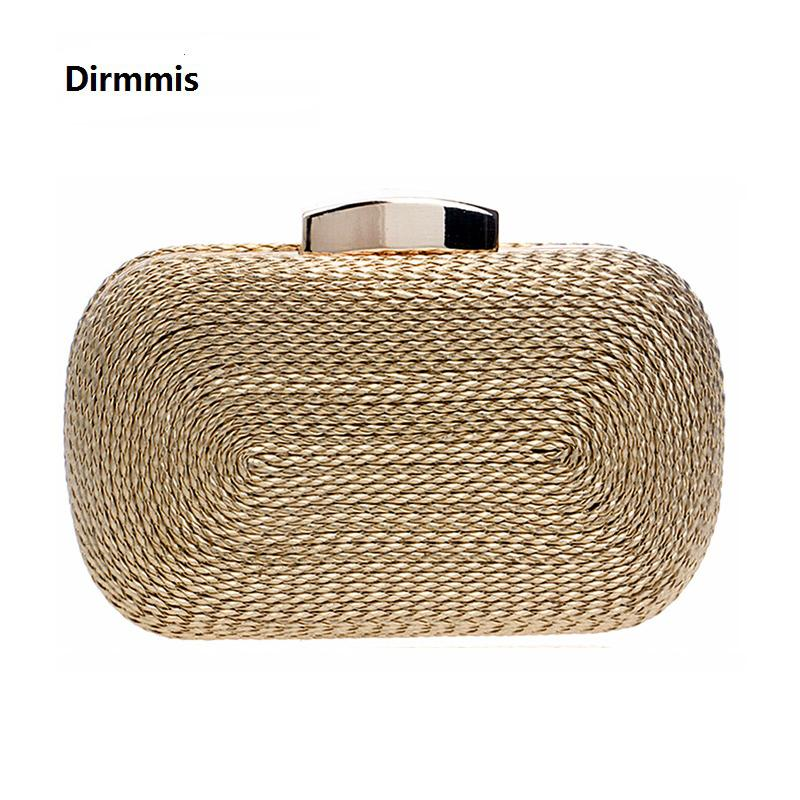2018 New Women Messenger Bags Brand Fashion Wallet Woven Bag Exquisite  Bride Evening Bag Luxury Knitting Clutch Vintage Hand Bag Y1890401 Leather Bags  For ... 4dc141d1417b