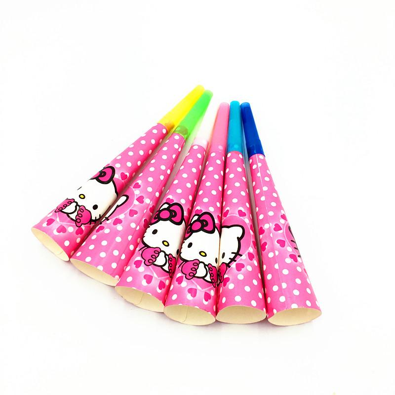 Kitty Mouse Horns Hello Kitty Trumpets Kids Birthday Party