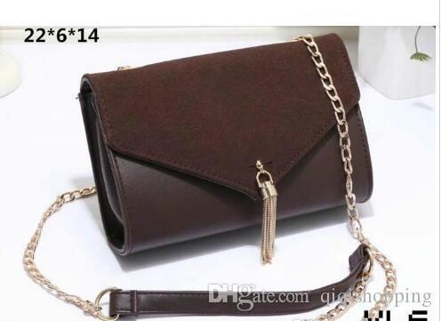 9f7fdfd616 SALE 2018 New Style Women Handbags Chains Shoulder Bag Messenger Bags  Fashion Bags High Quality Size 22x6x14cm Pu Leather Luxury Bags Handbags  Wholesale ...