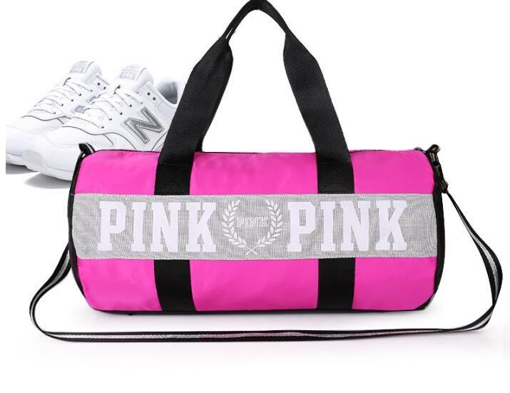 a4b9f59808b8d Großhandel Reisetasche Schultertasche Pink Sport Fitness Schräg Tasche  Brief Große Kapazität Wasserdichte Strandtaschen Frauen Handtaschen ...