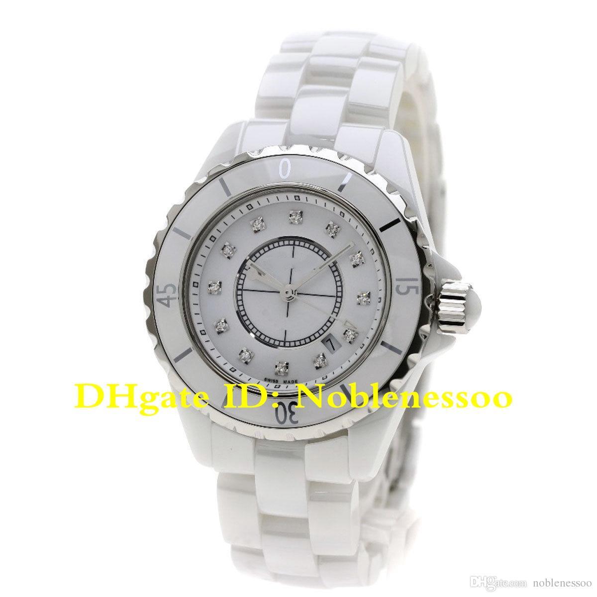 size 40 edd49 8b00c 7 Style Classic Ladies Luxury Watch Quartz White 33mm H0968 Lady Ceramic  Watch H0949 H1625 H0682 H0968 H1628 H0969 Women Bracelet Watches