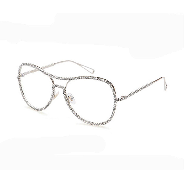 58297001f1 MINCL New Diamond Personality Gorgeous Retro Full Frame Glasses Lxl Frame  Glasses Full Frame Glasses Frame Glasses Online with  41.58 Piece on ...