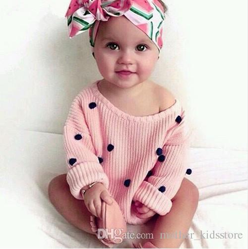 Newborn Baby Boys Knit Pullovers Spring Outerwear Children Kids