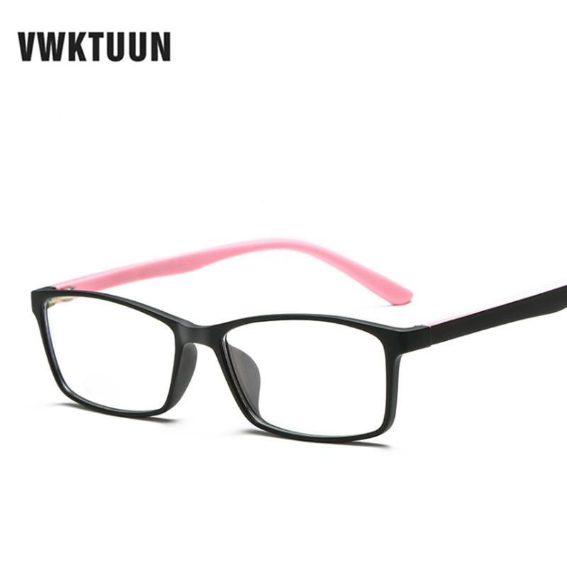 7ac5e5b9be VWKTUUN TR90 Frame Eyeglasses Frames Myopia Optical Eyewear Clear Lens  Eyeglasses Students Fake Glasses Frames Super Light Frame Eyewear Frames  Cheap ...