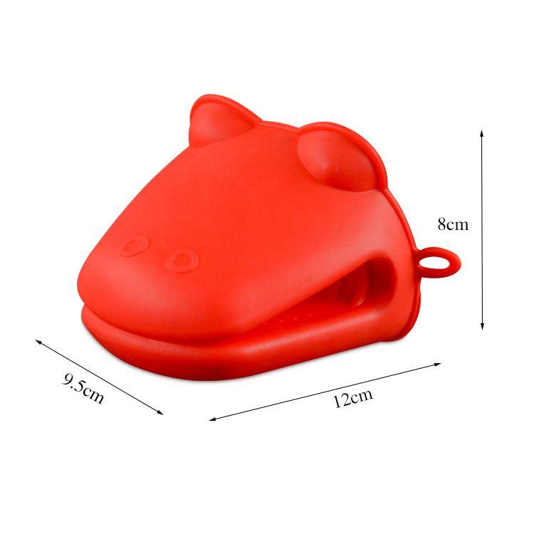 Guantes de silicona de microondas guantes de aislamiento térmico guantes de cocina a prueba de agua guantes antideslizantes a prueba de calor para cocinar