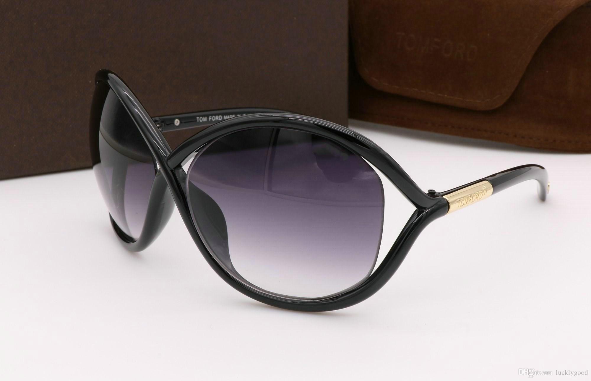 adab2cfdd5 Top Quality New Fashion Tom 0394 Sunglasses Ford Man Woman Erika ...