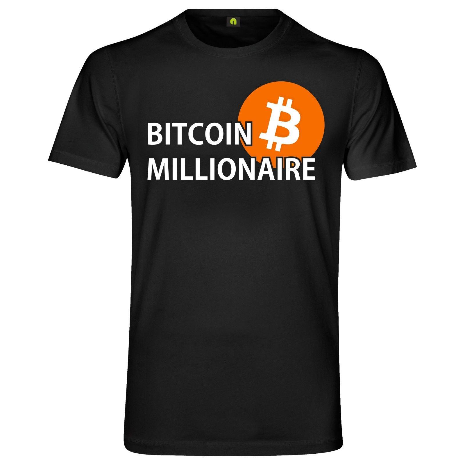 b2d5e03d Bitcoin Millionaire T Shirt Stock Exchange | Krypto Crypto Cool Casual  Pride T Shirt Men Unisex New Fashion Tshirt Loose Size Crazy Tee Shirts  Novelty T ...