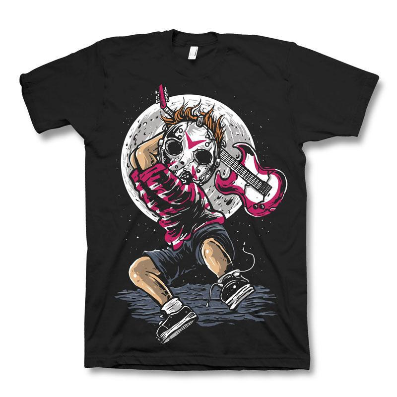 Break The Noise Jason Mask Punk Friday 13th Dtg Mens T Shirt Tees New 2018100% Cotton Short Sleeve O - Neck Tops Tee Shirts