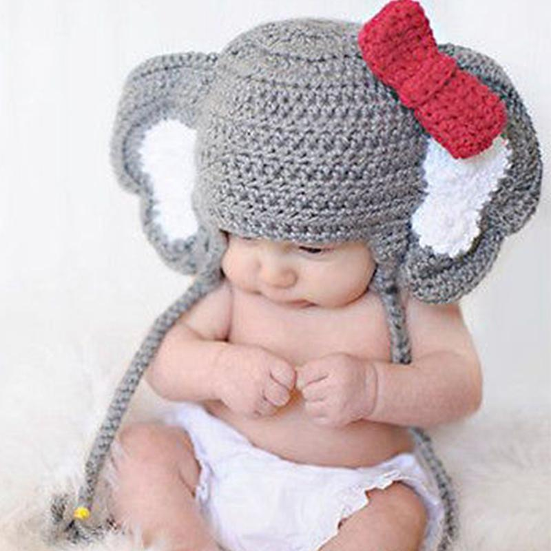 0dfee03c5d6b3 Newborn Baby Cute Crochet Knit Costume Prop Outfits Photo Photography Baby  Hat Photo Props New born girls Cute Outfits