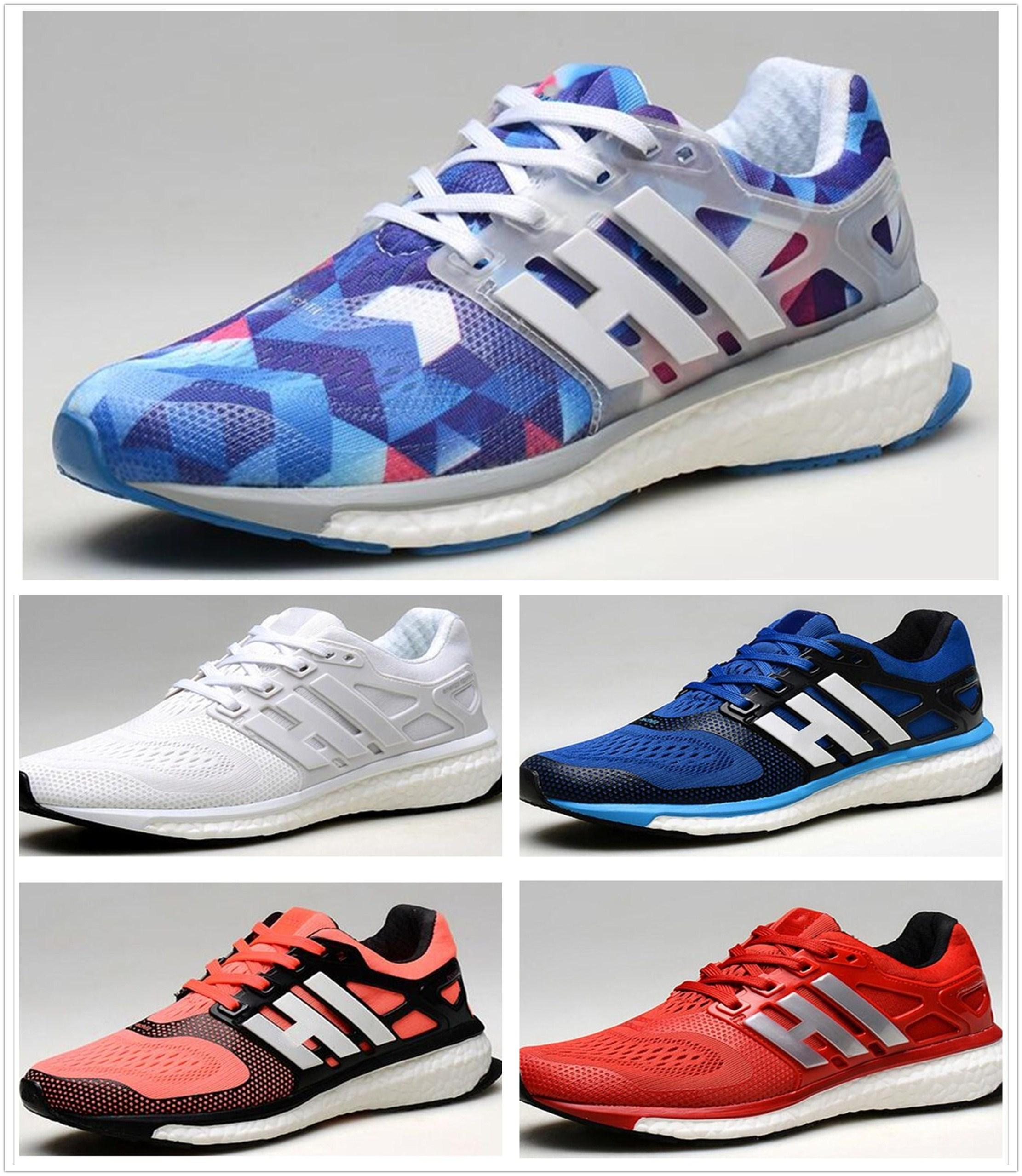 2017 Energy Boost 2 ESM Ultra Boost Genuine Leather Running Shoes Men Women  High Quality Shoes Athletic Shoes Size Toddler Boys Dress Shoes Best Shoes  For ... 341c208ded