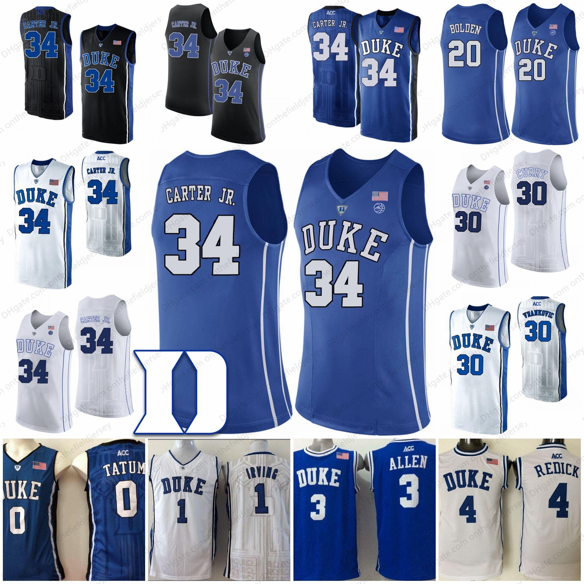 a1258d8014e1 Duke Blue Devils  20 Marques Bolden 30 Antonio Vrankovic 34 Wendell ...