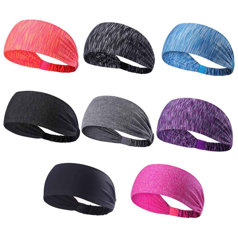 e2c665b59bd9 New Elastic Sport Headband Fitness Yoga Sweatband Outdoor Gym ...