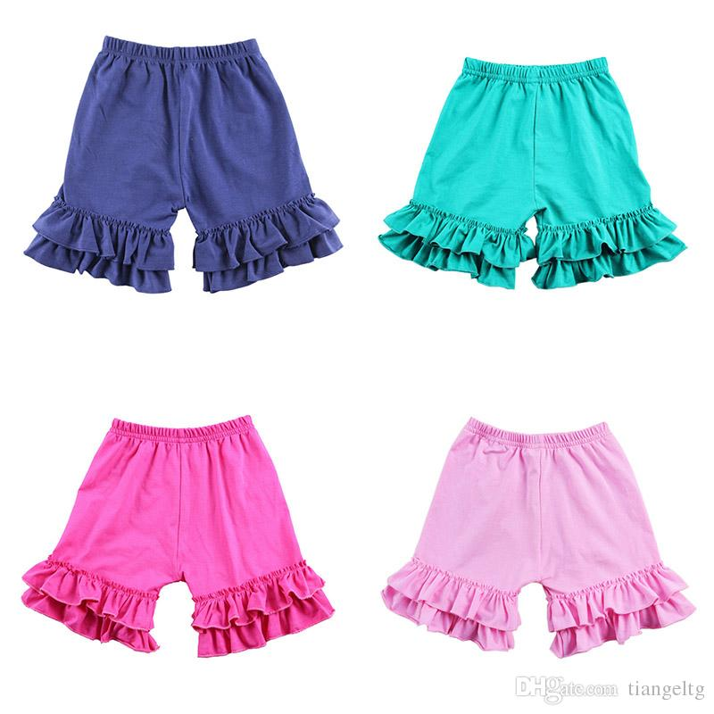 b57841c5b2e8 Girls Colored Lace Shorts Candy Shorts For Girls Multi Color Elastic ...