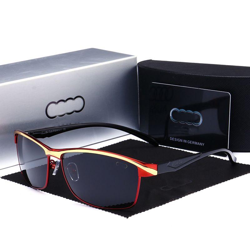 Designer Polarized Sunglasses Brand Glasses Driving Shades PC Farme Fashion Classic Gentleman luxury Sunglass Mirrors for Men