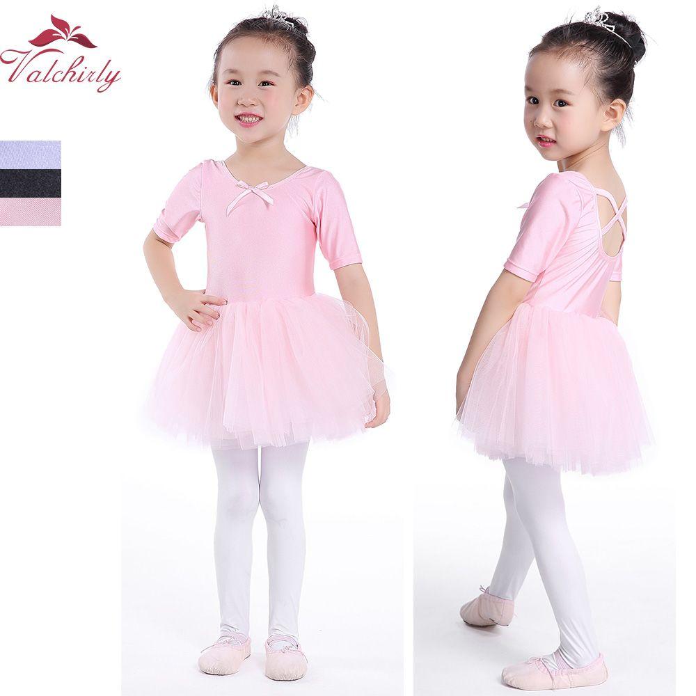 9b37926ea 2019 Tutu Pink Princess Ballet Dress Girls Toddler Ballet Dancewear ...