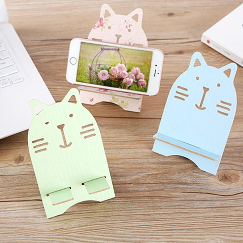 2018 Universal Phone Holder Wooden Mobile Stand Cute Creative Bear Cellphone Tablet Desk For From Therese 21 41 Dhgate Com