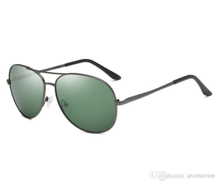 Heiße Männer Schatten geistigen Rahmen Sonnenbrillen Eyewear Brillen Männer polarisierte Sonnenbrille klassische Linse A103 Sonnenbrille Driving Gläser a360