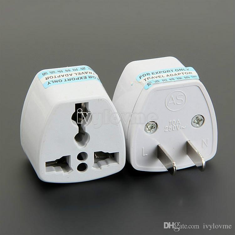Yeni Yüksek Kalite Seyahat Şarj AC Elektrik Güç İNGILTERE AU AB ABD Plug Adaptörü Dönüştürücü ABD Evrensel Güç Fiş Adaptador Bağlayıcı Ucuz