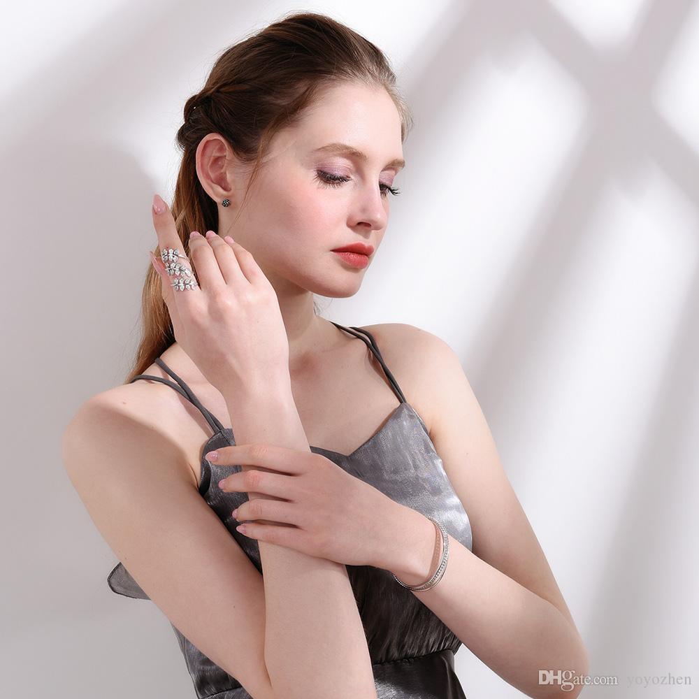Vintage manschettband för män / kvinnor 18k guldpläterade manschettmuffel Högkvalitativa mode smycken smycken grossist YH5147
