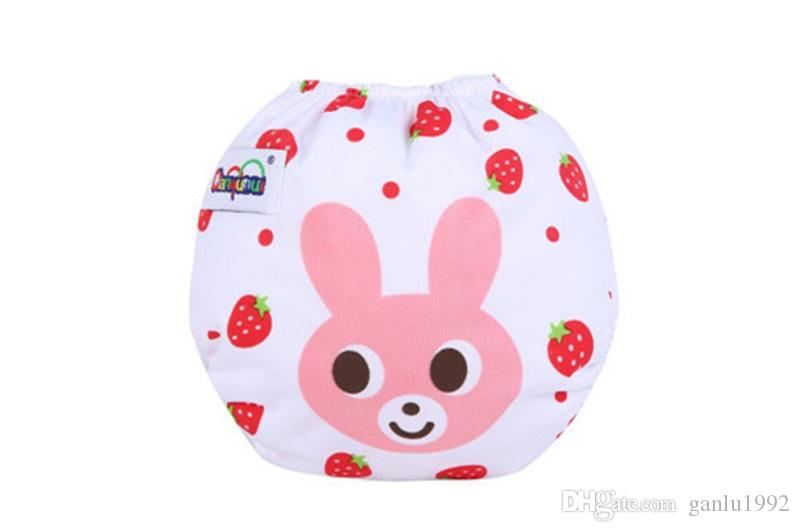 Cute Nursling Nappy Leak Proof Breathable Washable Baby Diapers Adjustable Size Waterproof Infant Training Shorts 5 5jr C R