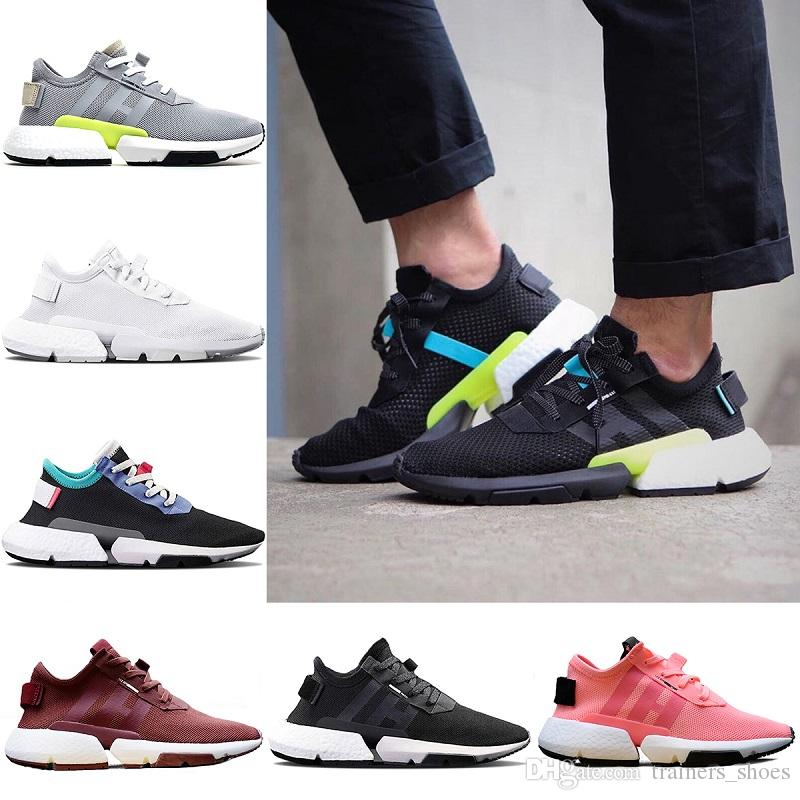 Pod-S3.1 Running Shoes 2018 Originals Cheap Men Women POD S3.1 System Outdoor Sports Shoes Black White Sneakers Free Shipping clearance discounts clearance best gZdI8