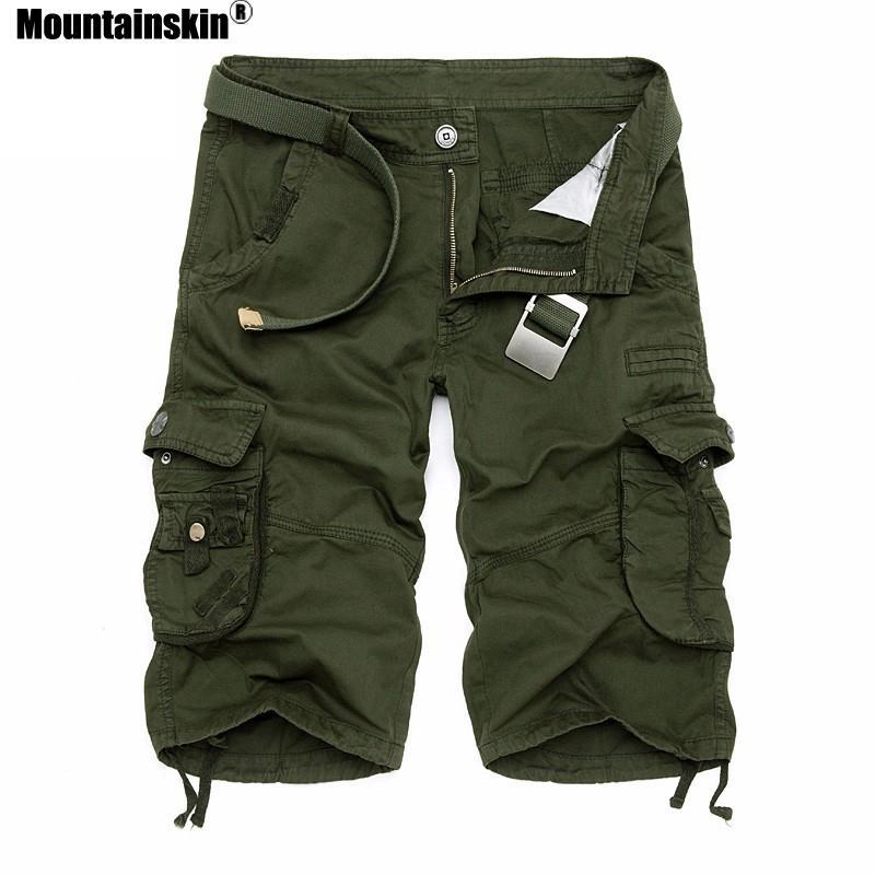 881be6f055 Compre Mountainkin Summer Camo Cargo Shorts De Algodón Camouflage Male  Jogger Board Shorts Hombres Marca Ropa Sa495 A  21.89 Del Longan08