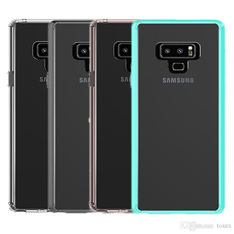 info for bc907 558d9 For Samsung Note 9 Case Clear Hybrid Soft TPU Bumper Back Cover Phone Case  For Samsung Galaxy Note 9