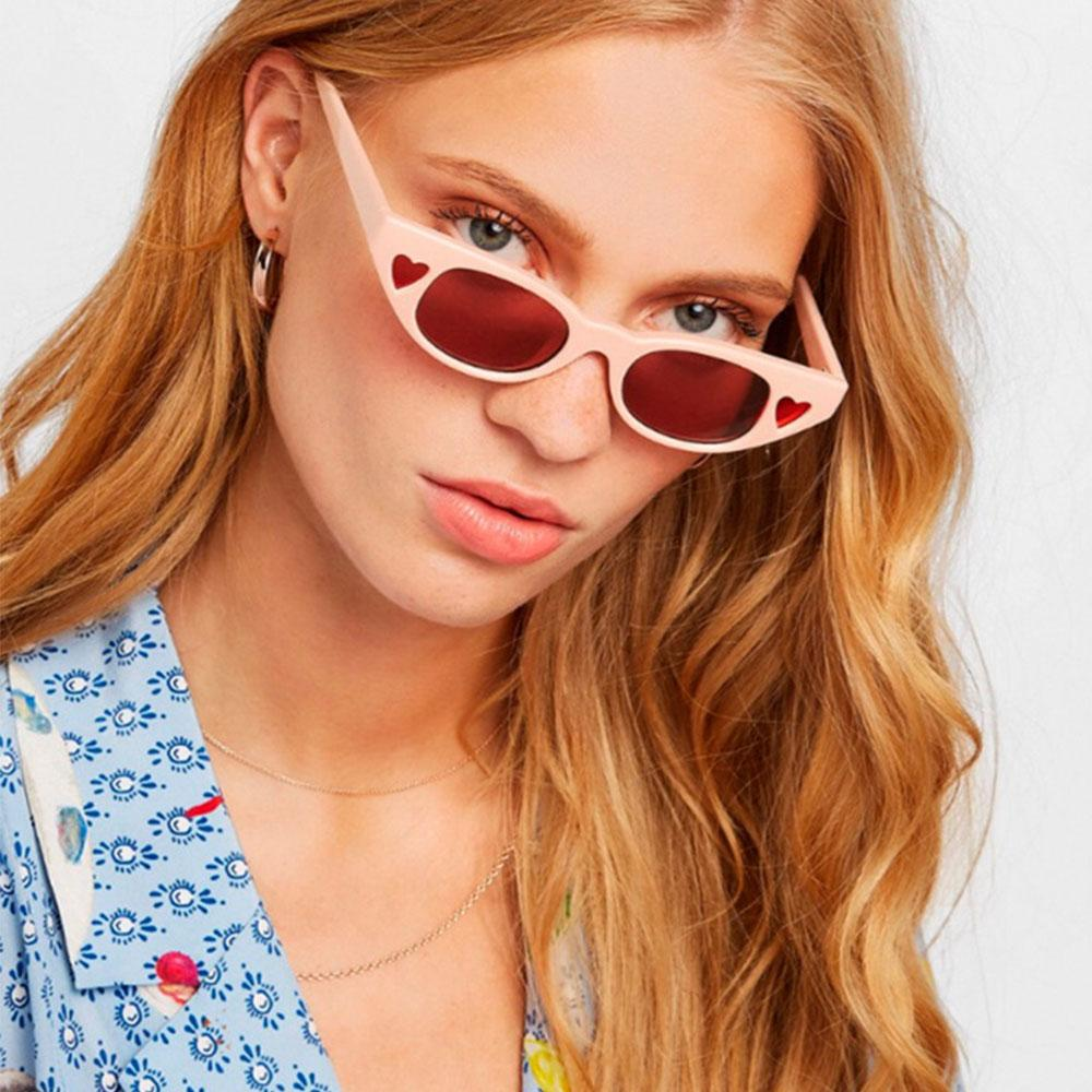 39874098174d Fashion Unique Slim Cat Style Sunglasses Women Street Heart Shape Design  Sun Glasses Luxury Women Outdoor Driving Sunglasses NX Vuarnet Sunglasses  Bifocal ...