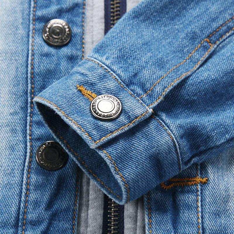 2016 kinder Jacke Denim Jungen Mit Kapuze Jean Jacken Mädchen Kinder kleidung baby mantel Lässige oberbekleidung Neue Marke fabrik