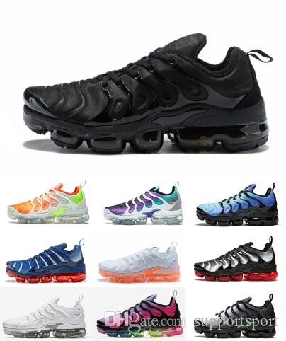 1995521bf6292 TN Plus Vapor Running Shoes Mens OFF Classic Outdoor Shoes Tn Black ...