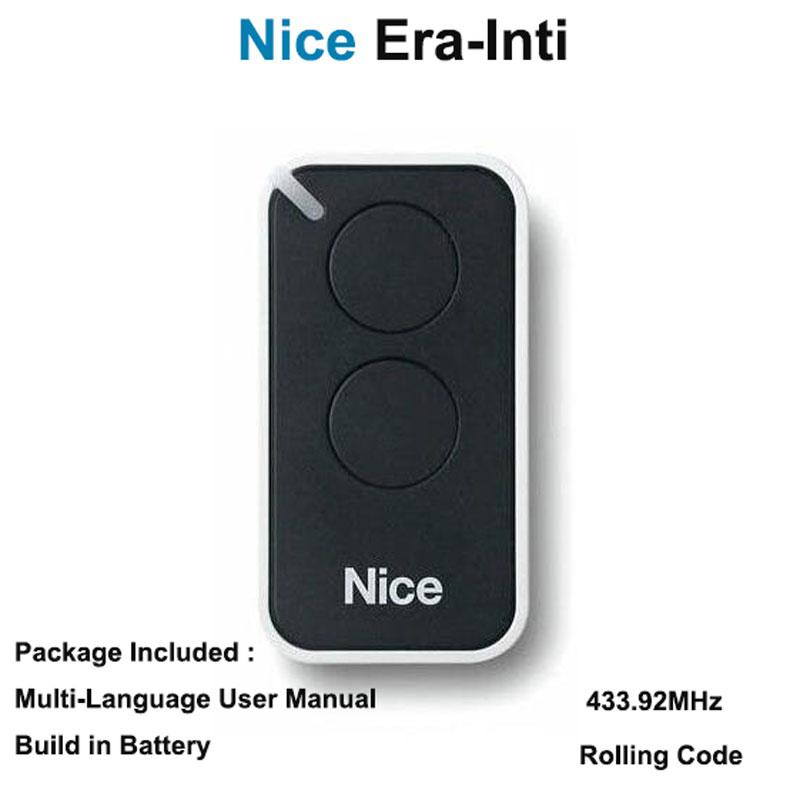 2019 Nice Era Inti Replacement Garage Door Remote Transmitter Nice