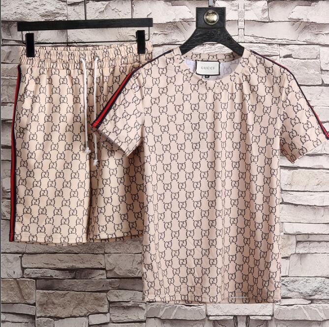 Compre 2018 Huck Camiseta Pantalón Corto Traje De Playa Para Hombre  Camiseta De Manga Corta Gucci Camisa Polo De Algodón Camiseta 3g Diseñador Hombre  Polos ... e969e1e7518dc