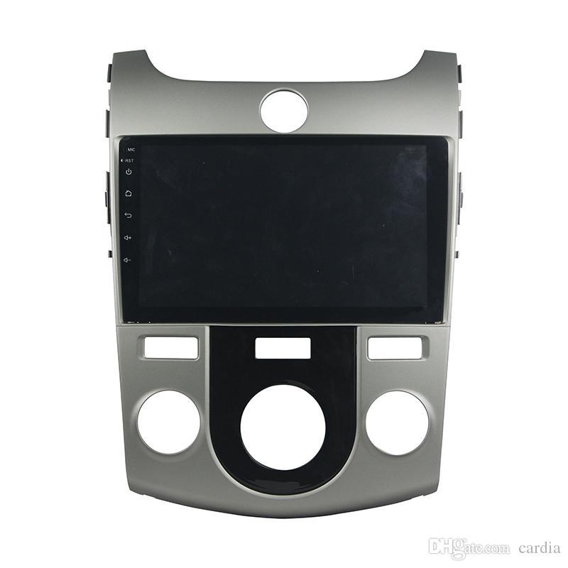 مشغل دي في دي للسيارات لkia CERATO FORTE MT full touch 8inch 2GB RAM Andriod 6.0 with GPS, Steering Wheel Control,Bluetooth, Radio
