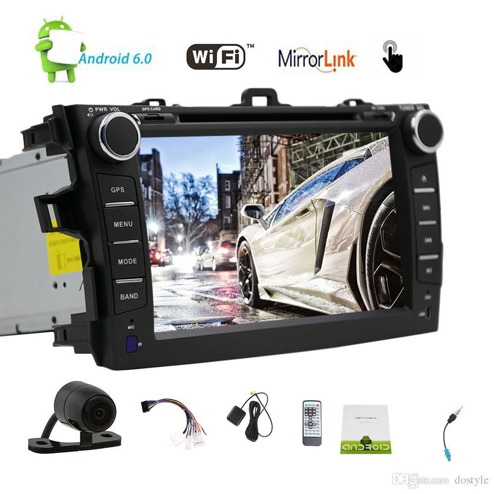 EinCar Android 6.0 Car Stereo Quad Core 7'' HD Touch Screen Car DVD Player  GPS Navigation Auto Radio Entertainment System Bluetooth/WiFi Cheap Black  Dvd ...
