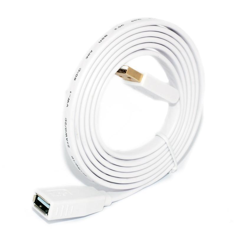 Удлинитель USB Кабель USB 2.0 3.0 Удлинитель кабеля Адаптер между мужчинами и женщинами PS4 Xbox Компьютер Smart TV Клавиатура